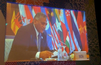 Gen. (Dr.) V.K. Singh (Retd), Minister State for External Affairs at 7th East Asia Summit (EAS) Foreign Ministers Meeting on 07th August 2017, Manilla, Philippines