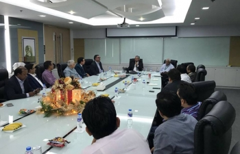 The second meeting of the India Business Forum (IBF) was held on 29 November 2017