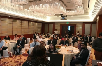 Embassy of India organises a workshop on Pharma sector (March 08, 2018)