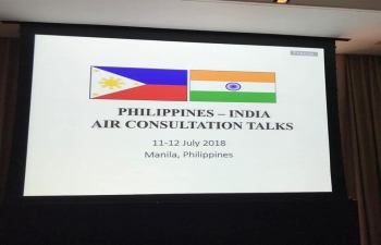 Philippines-India Air Consultation Talks