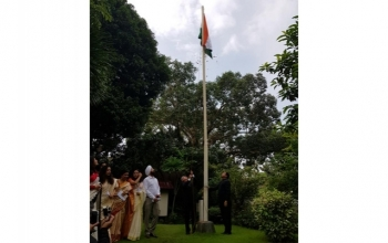 The Embassy of India Manila celebrated the 72nd Independence Day