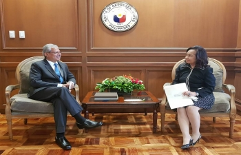Courtesy Call- Former President Gloria Arroyo