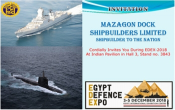 MDL Invitation - EDEX-2018 Cairo Egypt