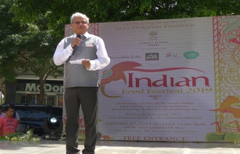 The Indian Food Festival 2019 was organized by the Embassy of India and the Ministry of Tourism of India as part of the celebrations of the 70 years of India-Philippines friendship.