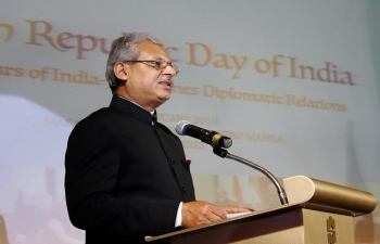 The Embassy of India celebrated the 70th Republic Day of India in Manila.