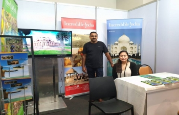 India Tourism Office, Singapore participates in PTAA TRAVEL TOUR EXPO from Friday 8th till Sunday 10th at SMX near Mall of ASIA, Pasay, Manila.