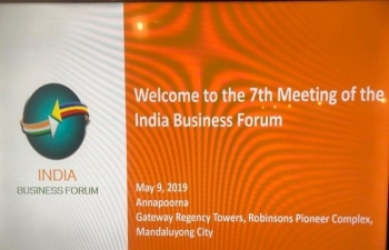 The 7th India Business Forum (IBF) meeting was held on 09 May 2019