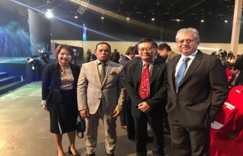 Tourism Summit 2019 on May 2, 2019 at the World Trade Center, Pasay City, Metro Manila.