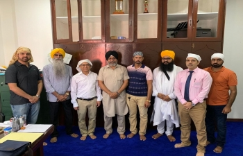 The Embassy of India successfully conducted a Consular Camp on Saturday 18 May 2019 at Indian Sikh Temple (Punjabi Khalsa Diwan) Baranggay Vallamonte, Bacolod City. Members of the Indian community gathered in large numbers to benefit from the consular services.