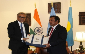 Republic of Palau becomes the 76th country to join the International Solar Alliance.