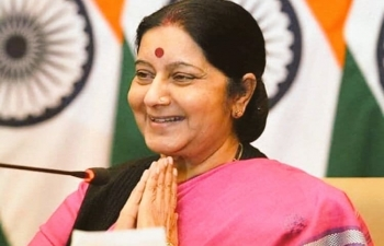 The Embassy mourns the passing of former External Affairs Minister, Smt. Sushma Swaraj