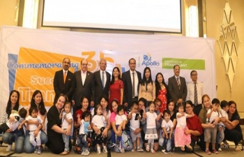 India's Apollo Hospitals Commemorates 35 successful Liver Transplant in Pinoy Kids