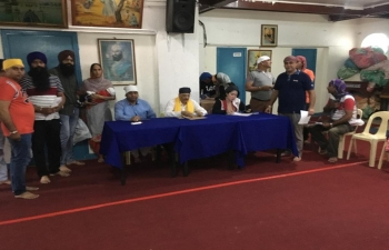 #IndianEmbassyHomeAwayFromHome As part of the Embassy outreach, a successful consular camp was held at the Indian Sikh Temple in Iloilo on 14 September 2019. A large number of Indian community members gathered and benefitted from the consular services provided by the Embassy officials.