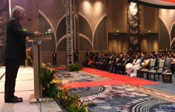 The Indian Community Event organized on 20 October 2019 at Shangri-La, BGC in honor of Hon. President of India Shri. Ram Nath Kovind during his visit to the Philippines.