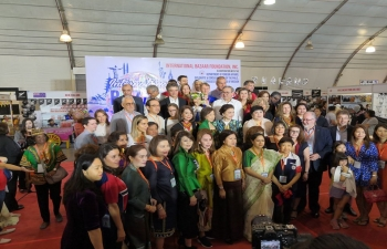 Glimpses of the International Bazaar 2019 in cooperation with the Department of Foreign Affairs, Republic of the Philippines, International Bazaar Foundation, Inc. and Spouses of the Heads of Missions, held at the PICC on 24 November 2019.