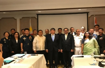 The 3rd India-Philippines Joint Defence Cooperation Committee (JDCC) Meeting was held on 31 January 2020 at Dusit Thani Hotel, Manila.  The Indian side was led by Mr. Bharat Khera, Joint Secretary (Planning), Ministry of Defence of India and the Philippines side was led by Mr. Teodoro Cirilo T. Torralba III, Assistant Secretary for Assessments and International Affairs (ASAIA).