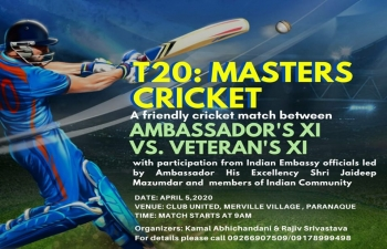 T20: MASTERS CRICKET
