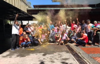 The Embassy of India in Manila wishes all a very Happy and colorful Holi