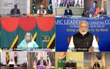 PM interacts with SAARC leaders to combat COVID-19 in the region
