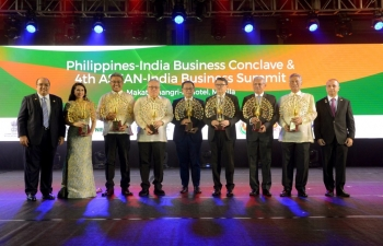 Philippine-India Business Conclave and 4th ASEAN-India Business Summit on 19 October 2019.