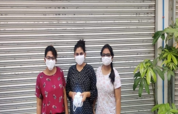 Continuing its mission to reach Indians all over the Philippines, the Embassy of India, Manila provided supplies of face masks to Indian students of University of Northern Philippines, Vigan City in Ilocus Sur.