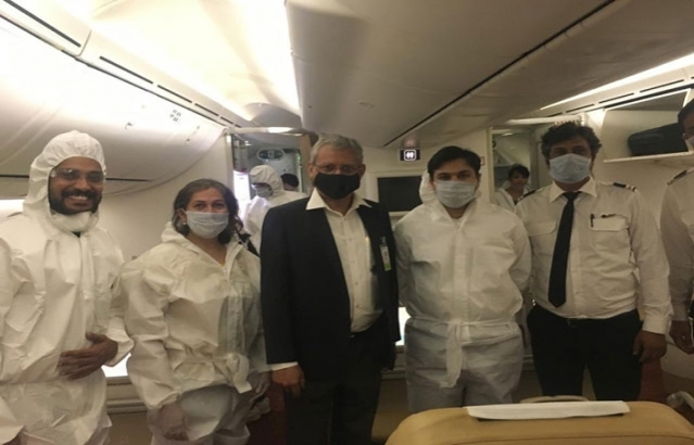 As AI 1387 arrives at Manila International Airport as part of Vande Bharat Mission to bring stranded Indians from Philippines, Ambassador Jaideep Mazumdar conveyed his heartfelt gratitude to Air India pilots and crew.