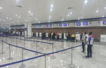 The Embassy of India, Manila facilitated the departure of 334 Indian seafarers stranded in Manila to Mumbai on a Charter flight PR8724 on 11 June 2020.