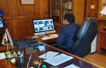 Ambassador's virtual 'Open House' meeting with Indian nationals in the Philippines to address queries on repatriation and related issues; 21 August 2020
