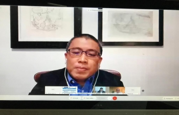 Virtual business summit on enhancing India - Philippines trade and economic relations by Confederation of Indian Industry and Philippine Chamber of Commerce Industry, 25 September 2020.