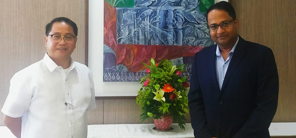 On 30th October, Ambassador met Mr. Danilo Concepcion, President, University of the Philippines. A comprehensive and substantive discussion on expanding educational links between India and the Philippines across several fields of study.