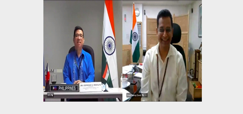 13th Meeting of India-Philippines Joint Working Group on Trade and Investment