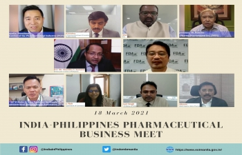 India-Philippines Pharmaceutical Business Meet