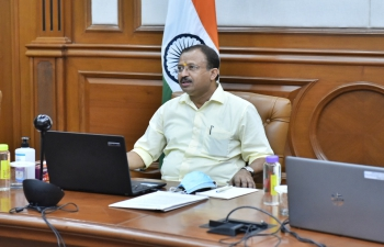 Virtual Interaction between the Minister of State for External Affairs of India and the Vice President & Minister of State of Republic of Palau